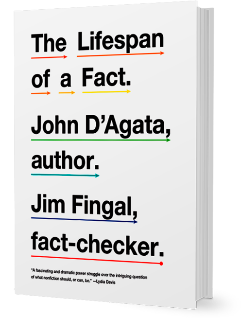 John D'Agata: The Lifespan of a Fact