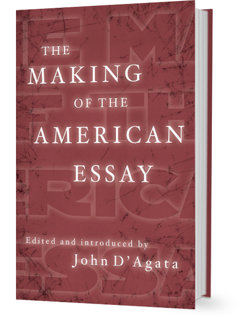 John D'Agata: The Making of the American Essay